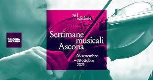 Canton Ticino: al via la settantaseiesime Settimana Musicale di Ascona