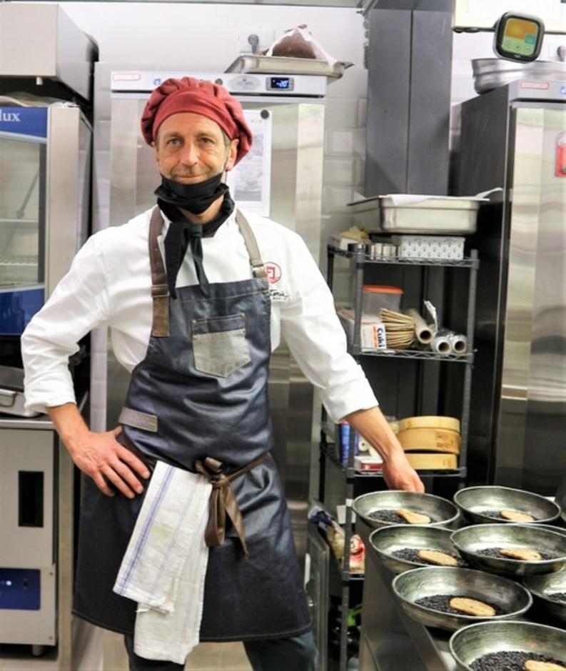 Pigna (IM): lo chef Federico Lanteri ha riaperto il ristorante con molte interessanti novità