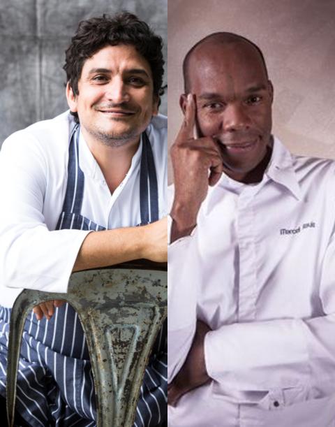Mauro Colagreco inaugura oggi il Ristorante Riviera, sulle alture di Roquebrune-Cap-Martin. Il 3 novembre cena sostenibile a 4 mani con lo chef Marcel Ravin.