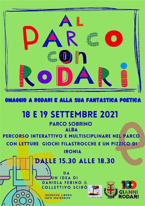 Alba (CN): al parco con Rodari sabato 18 e domenica 19 settembre