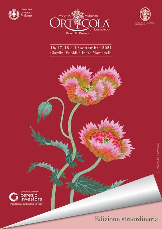 Milano: Orticola sboccia a settembre all'insegna del papavero