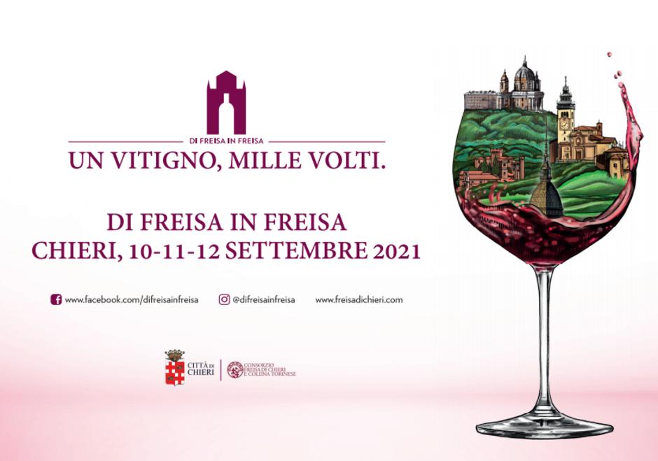 "Dal 10 al 12 settembre a Chieri (TO) torna ""Di Freisa in Freisa"""