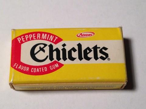 """Il """"cicles"""": il nome torinese della gomma da masticare"""