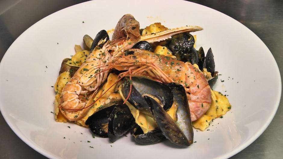 Sanremo: piatti di grande qualità nella cucina del ristorante Bruno sul lungomare di Bussana.