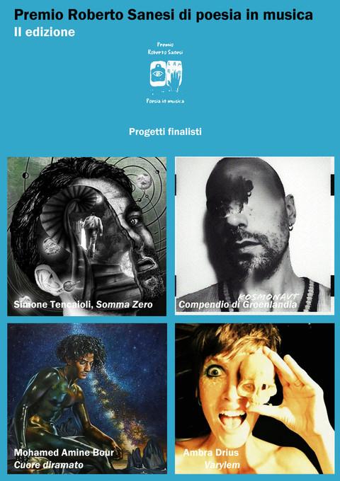 Torino: selezionati i quattro finalisti del Premio Roberto Sanesi di Poesia in Musica