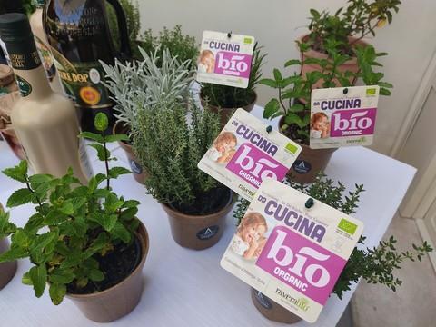 I fiori eduli di Ravera Bio di Albenga protagosniti ad Aromatica