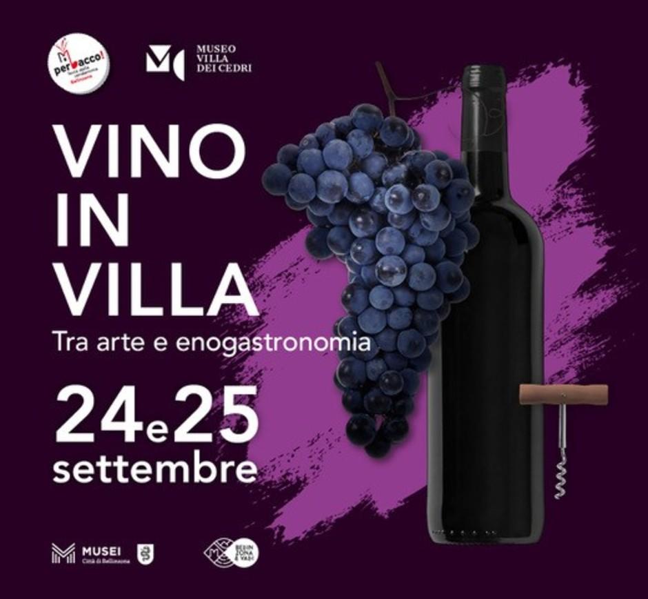 """Canton Ticino: a Bellinzona torna """"Vino in villa"""" il 24 e 25 settembre"""