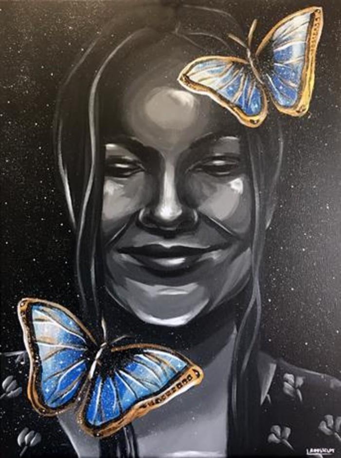 Nizza: le opere di Lisa Rousselot sui muri delle Puces (Foto)