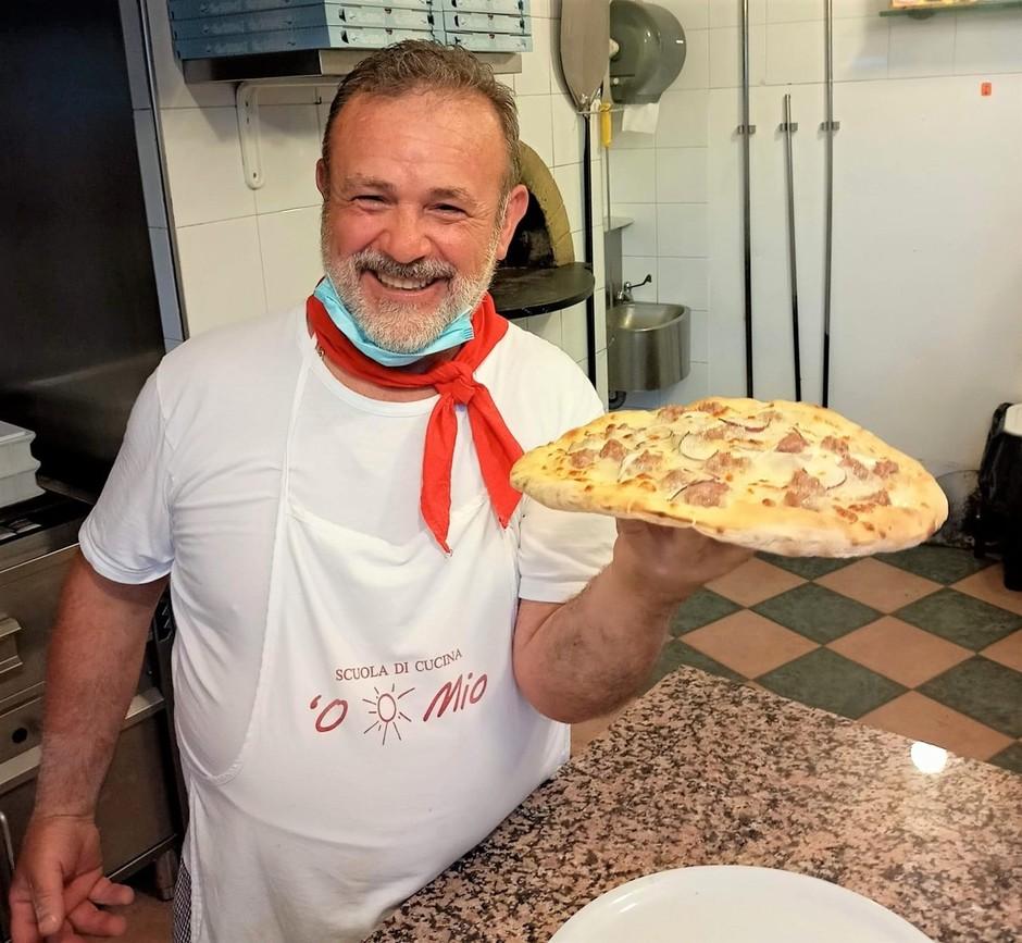 """Diamo Marina: per Aromatica apertura straordinaria della pizzeria """"O Sole mio"""""""