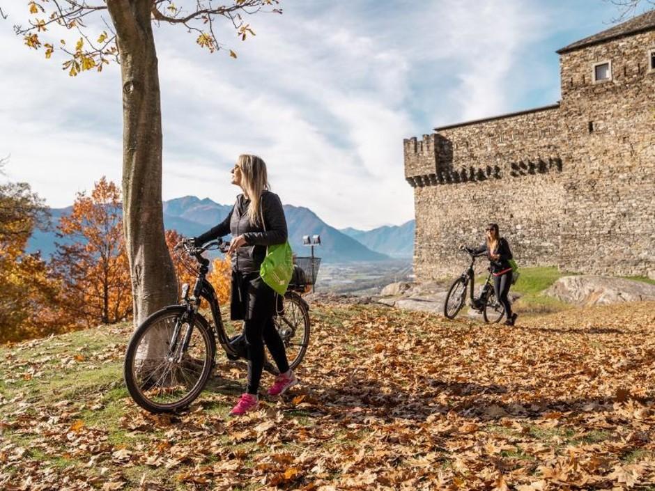 """Canton Ticino: a Bellinzona il """"Quintour"""", il tour gastronomico su due ruote"""