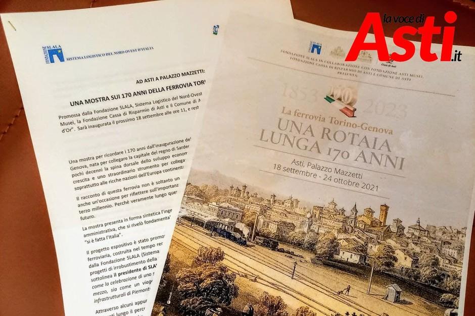 Asti: al via la mostra dedicata ai 170 anni della linea ferroviaria Torino-Genova