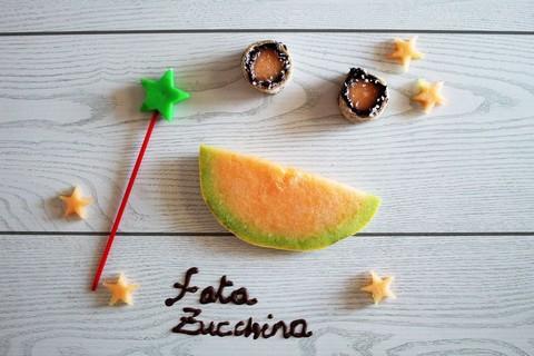 Una nuova ricetta della Fata Zucchina: il Sushi di melone