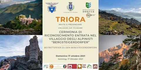 Triora (IM) è il primo paese ligure ad entrare tra i Villaggi degli Alpinisti