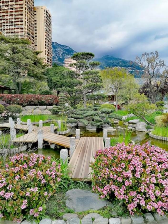 Monaco: Il Giardino Giapponese porta le atmosfere dell'Estremo Oriente in città (Foto)