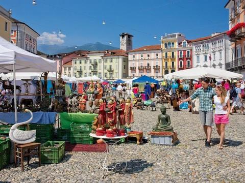 Canton Ticino: a Locarno arriva il mercato dei prodotti tipici locali
