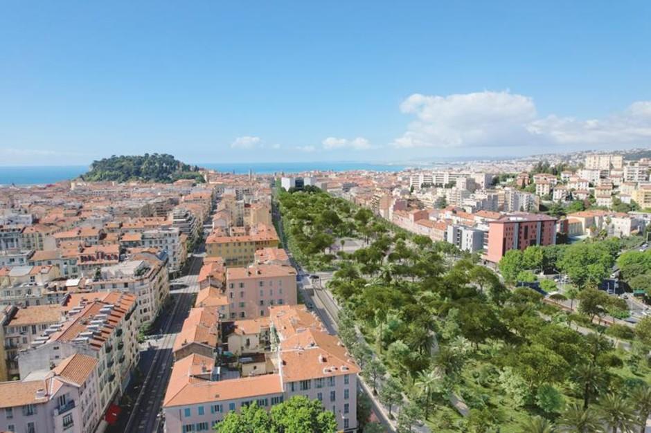 Nizza con la transizione ecologica si fa più bella (Foto)