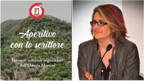 """Pigna: mercoledì Raffaella Fenoglio chiude la rassegna """"Aperitivo con lo scrittore"""""""