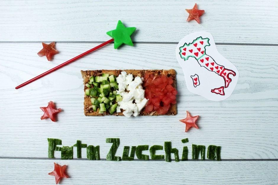 Una nuova ricetta di Fata Zucchina: la Bruschetta tricolore